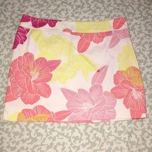 Express floral skirt